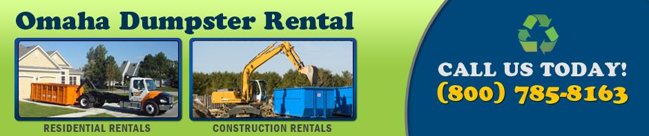 dumpster rental Omaha logo